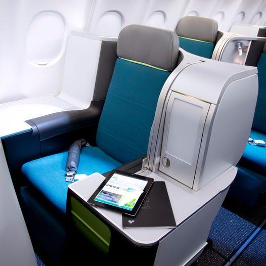 Seats & Cabin - Aer Lingus