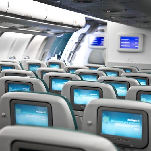 airbus a330 economy cabin