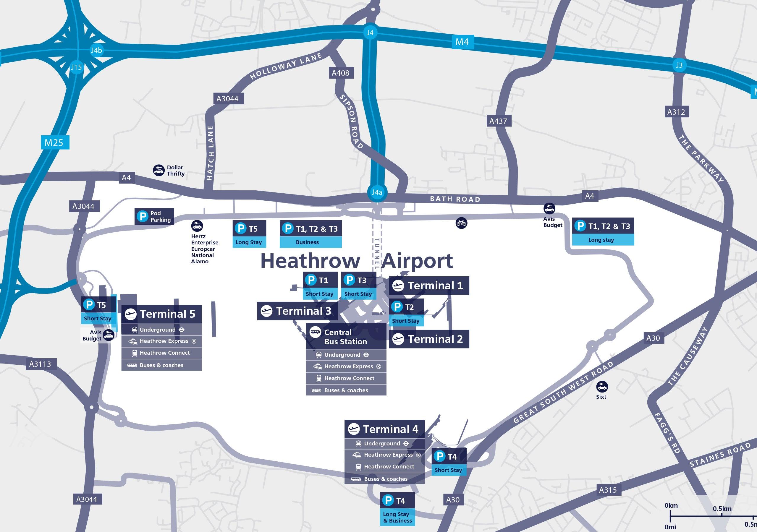 Heathrow Airport Terminal 2 - Aer Lingus