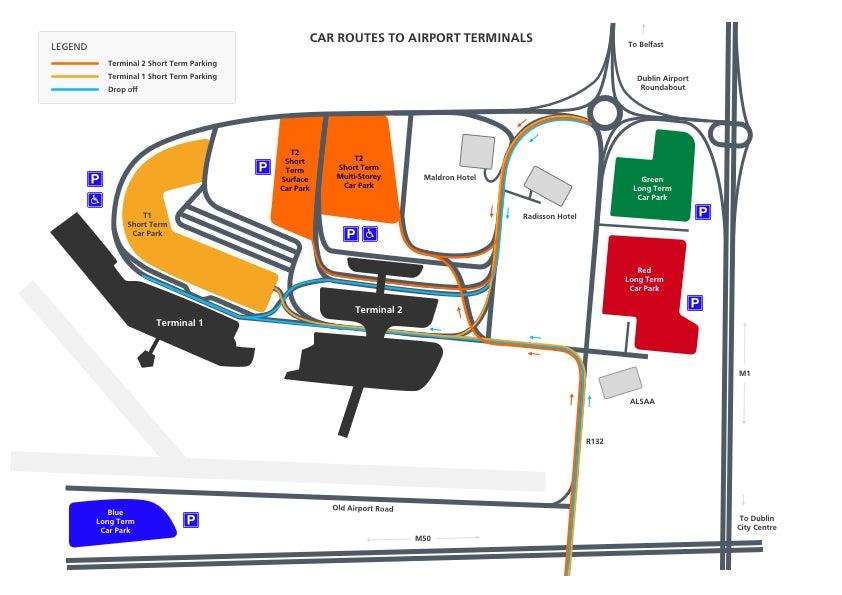 Dublin Airport Terminal 2 - Aer Lingus